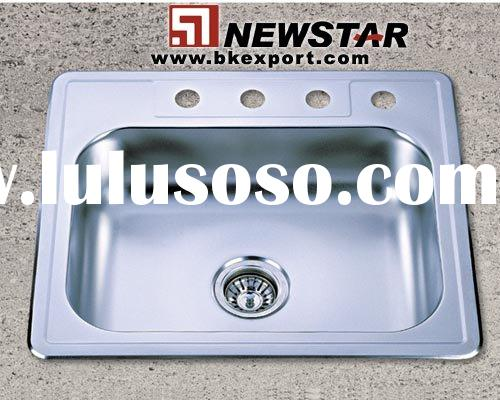 Drop in Sinks(Topmount Sink,Single Bowl Sinks,Stainless Steel Sinks,Steel Sink)