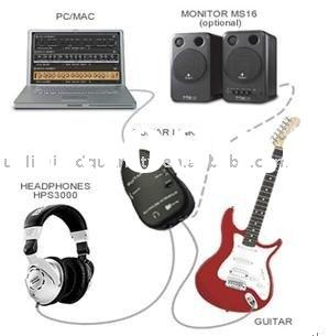 Electric Guitar to PC Interface