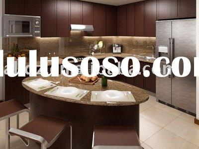 Frameless Kitchen Cabinets (Shaker Door, Dovetail Drawers, Self Closing Glides)