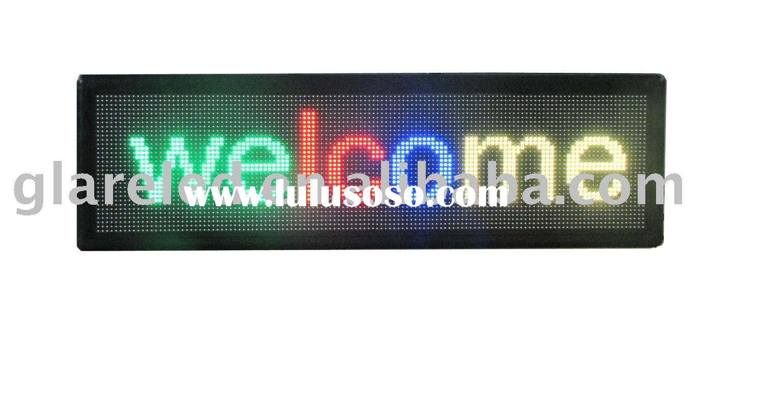 Indoor 3 IN 1 SMD  full color LED Sign