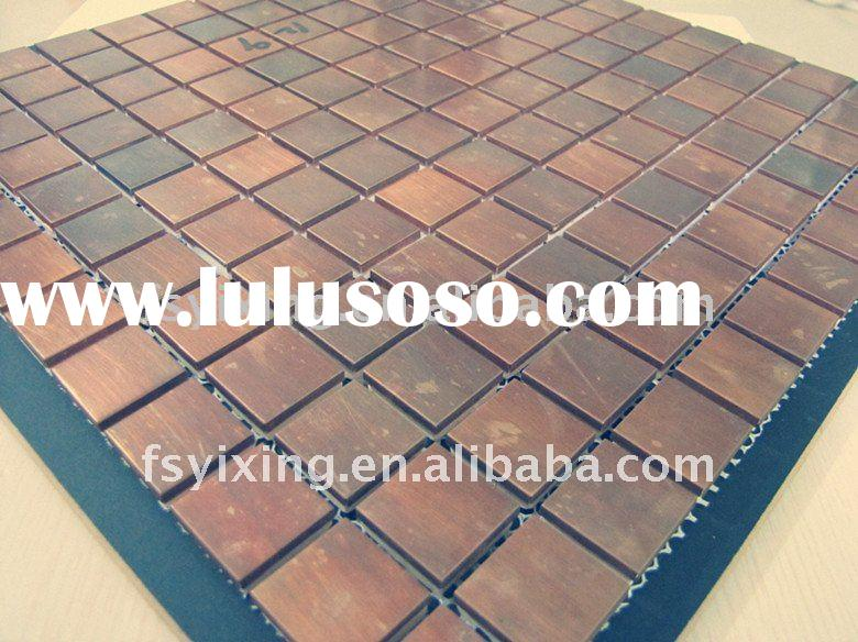 Interior Building Material-Classic Copper Mosaic Tiles