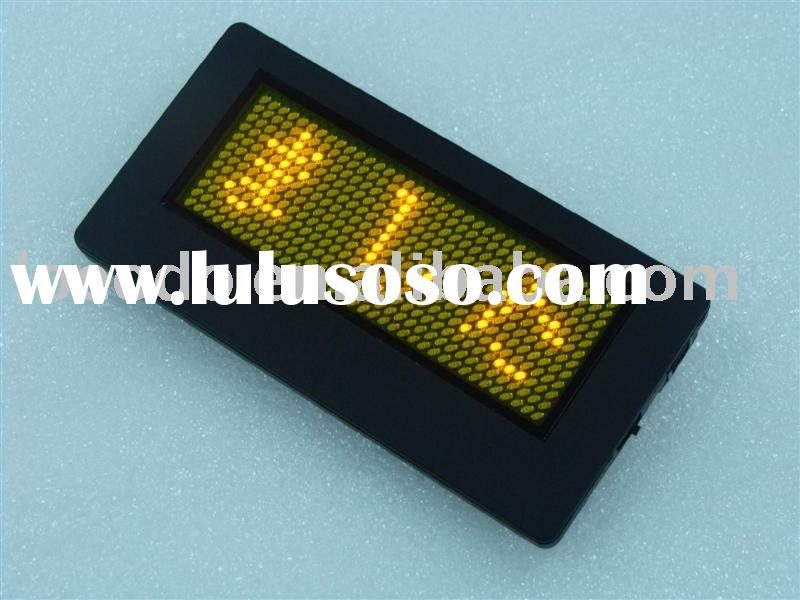 Japanese led name badge/led name card