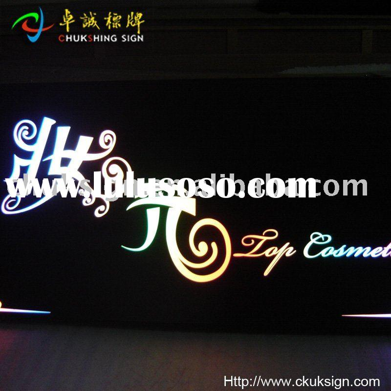 LED indoor sign