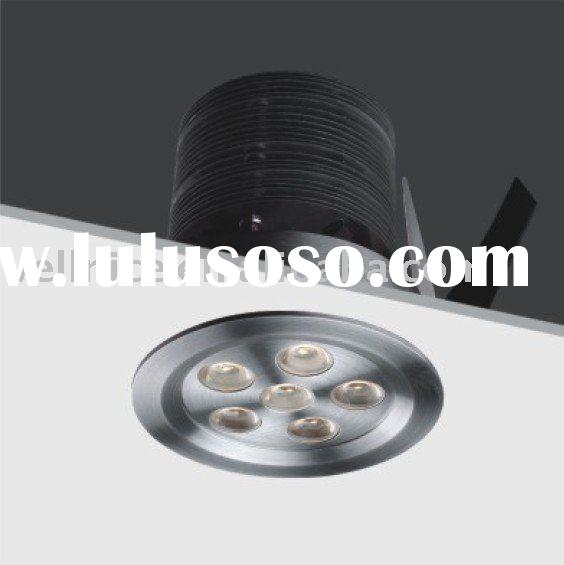 Long life 6*3W High Power  Recessed LED Downlight