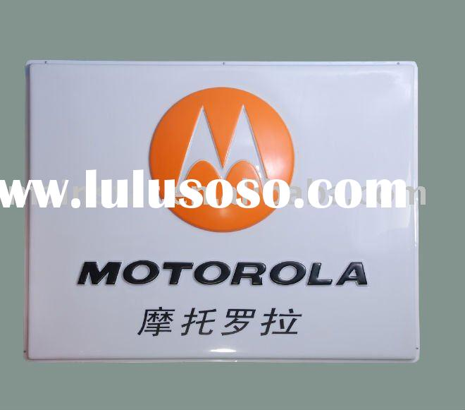 MOTO display light box (indoor sign)