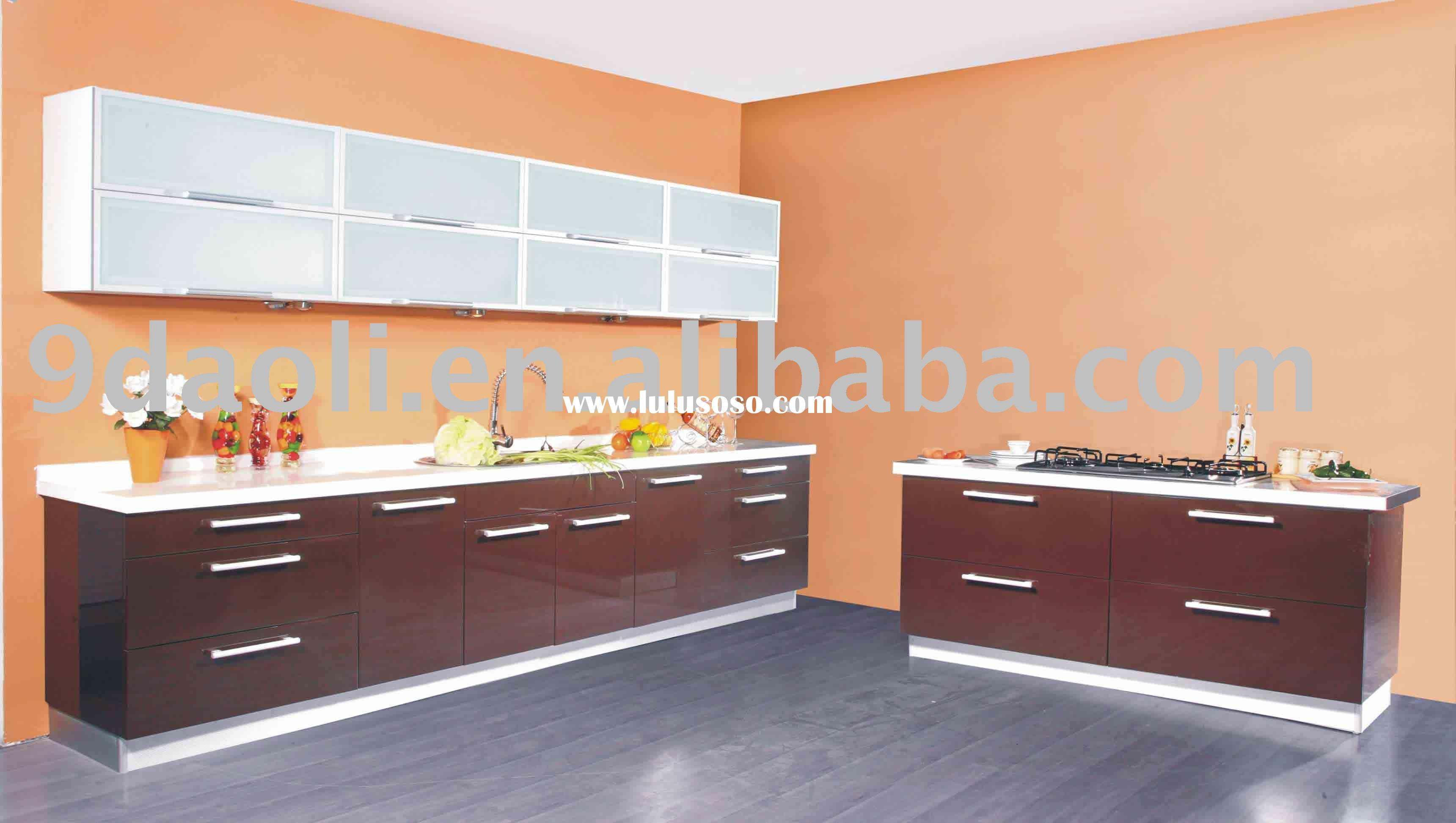 Ocean Blue Kitchen Cabinet For Sale Price China