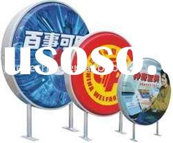 Round light box/Outdoor light box/Advertising light box/Display light box