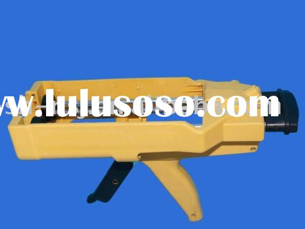 Two-component manual caulking gun for operating 400ml 1:1 construction epoxies