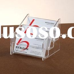 acrylic business card holder,acrylic table top dispenser