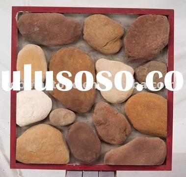 exterior and interior wall building material stone