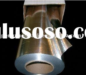 foil insulation,non-perforated radiant barrier,woven fabric laminated Aluinium foil