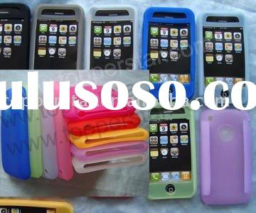 for Apple iPhone accessory (silicone case for 3g 3gs iPhone)