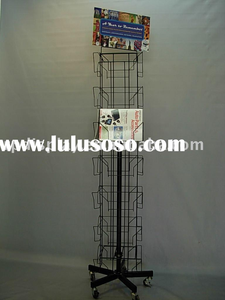 greeting card spinner display rack