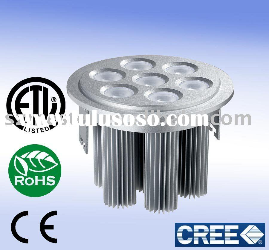 high power 21W CREE XR-E led downlight (recessed light)