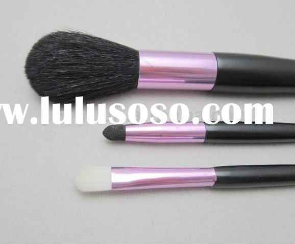 hot pink makeup brush set