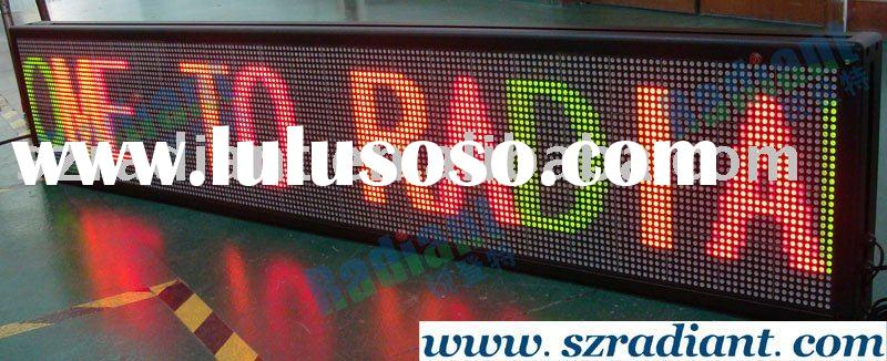 indoor advertising LED display board