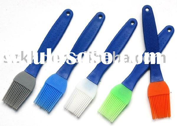 kitchen accessory of silicone bbq brushs