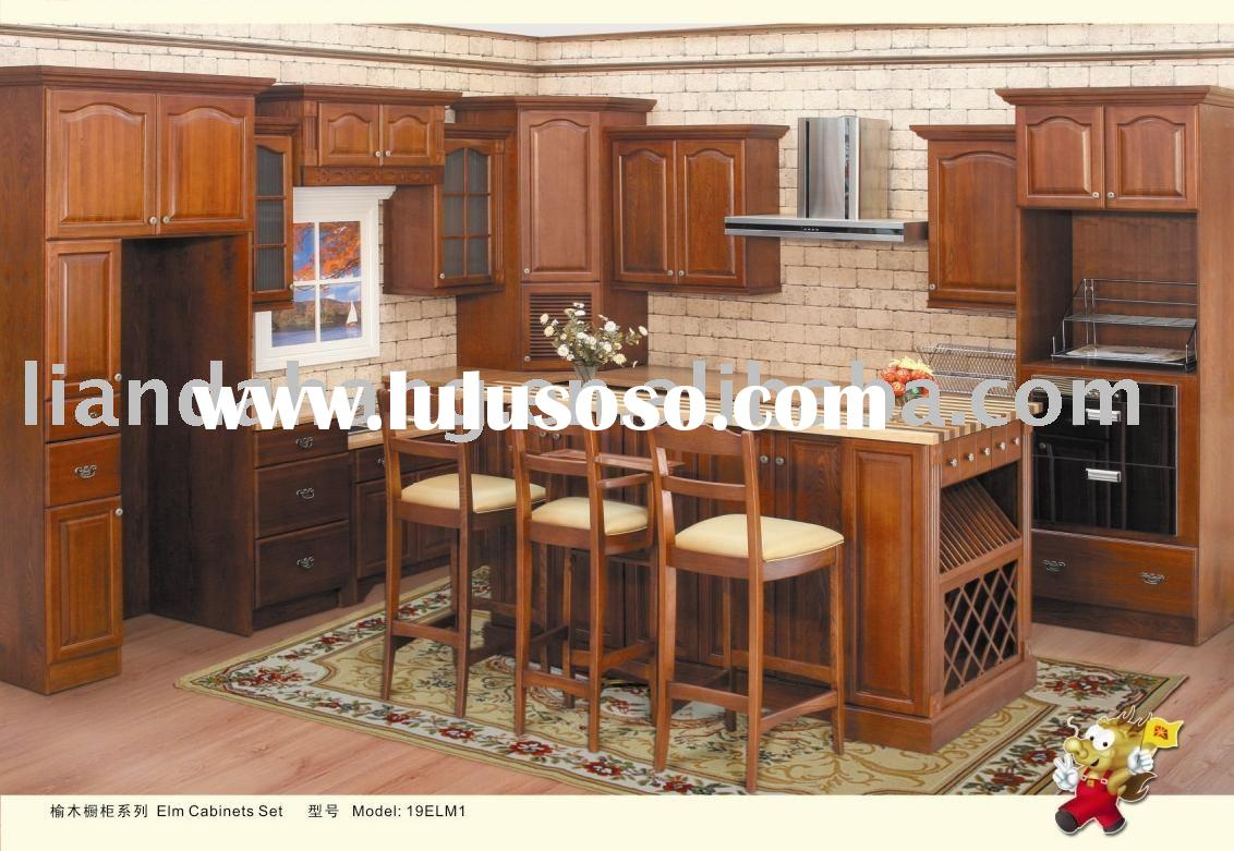 manufacturing Wooden Kitchen Furnitures, Kitchen Cabinet as requested