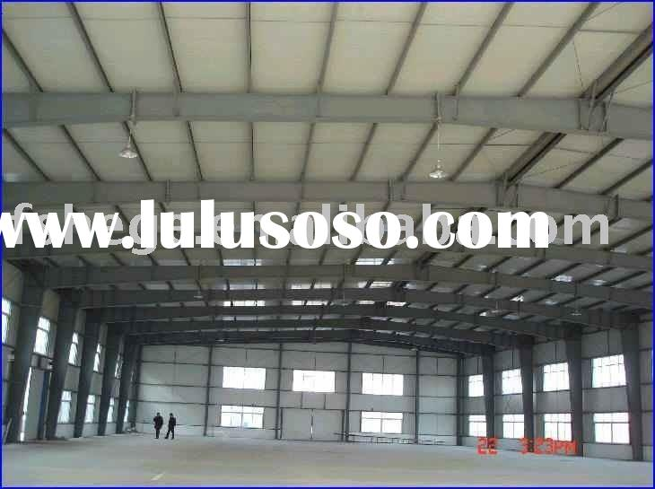 metal frame building,prefabricated building,light steel structure building for warehouse and worksho