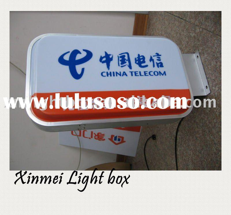 outdoor/indoor iluminated sign board/light box
