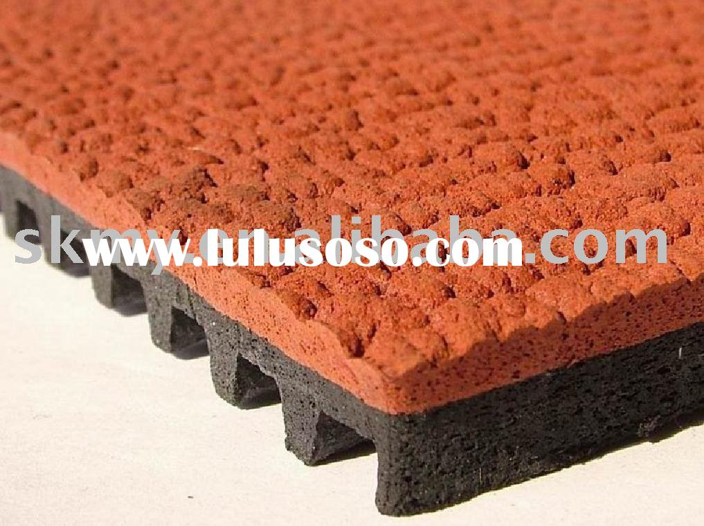 Recycled Rubber Tiles For Driveways For Sale Price China