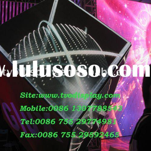 stage concert pitch  6mm  arc led signs display screen