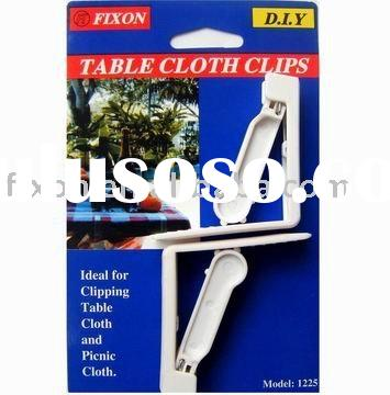 table cloth clips