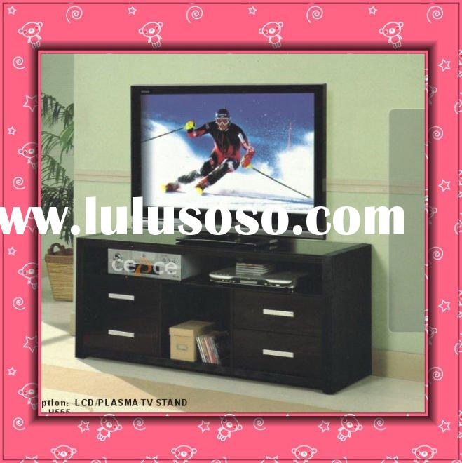 2011 New Model  Modern  Wooden lcd tv stand design H555
