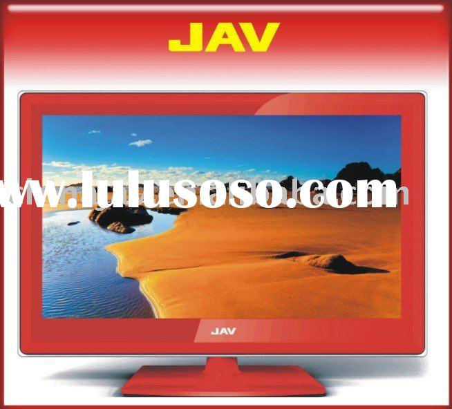 32 inch red  LCD TV DVD COMBO