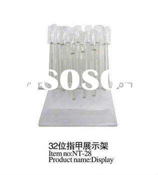 32 x Nail Art Display Stand For Practice & Display