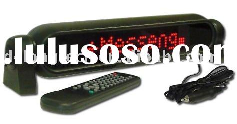 7X50pixel mobile led car display with scrolling message