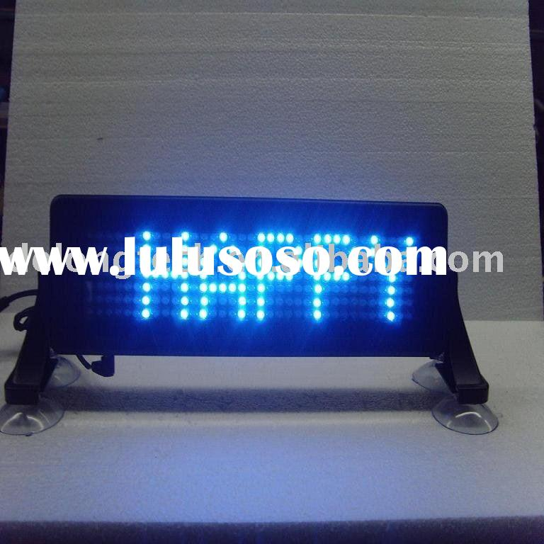 7*35pixel scrolling message brake led display for car