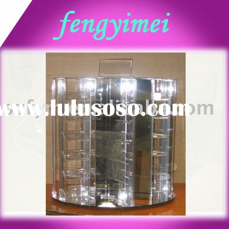 Acrylic Countertop Jewelry Display Spinner