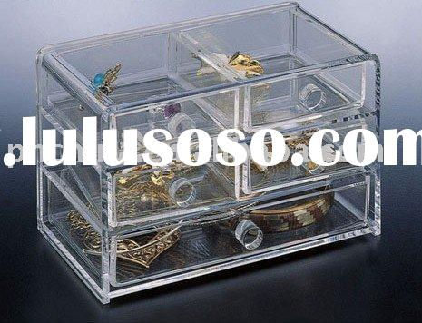 Acrylic Jewelry Display cases, acrylic jewellery display Stands LY-5553