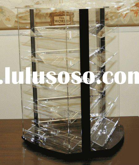 Acrylic Revolving Countertop Jewelry Display