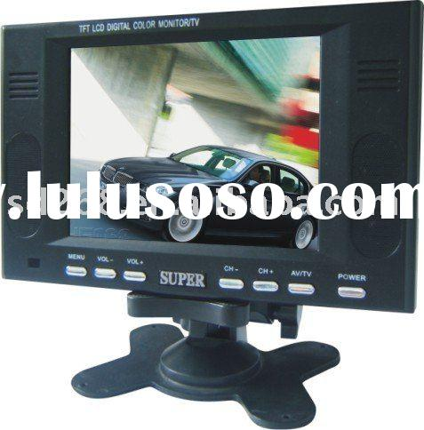 Cheap 5 inch stand alone tft lcd car TV