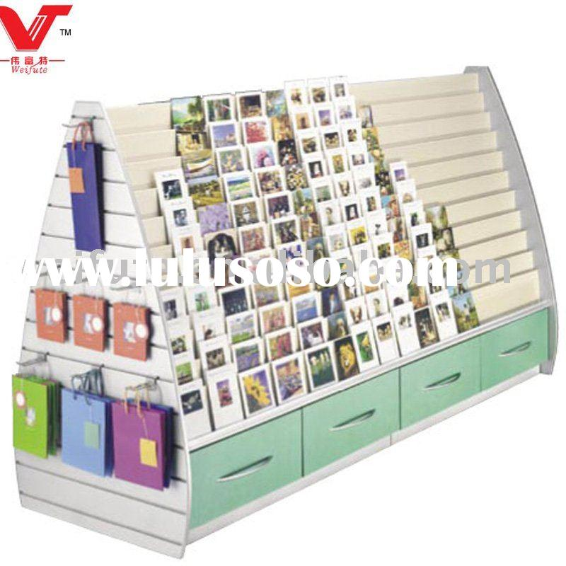 Double Sided Greeting Card Display Rack