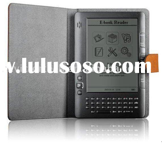 E-reader with 6-inch Monochrome high reflective LCD display