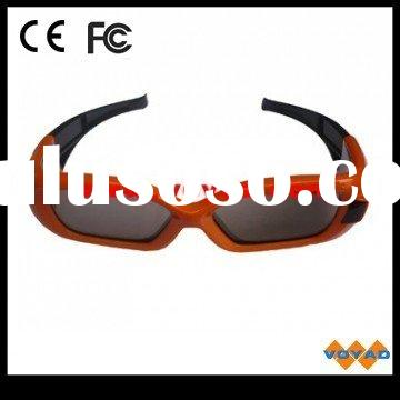 Hot Sale Active 3D Shutter Glasses for SAMSUNG LCD/LED/PHP 3D TV with build-in IR emitter