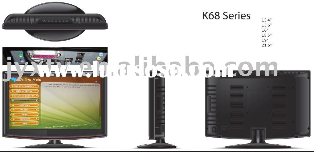 LCD monitor, TV/PC, Smart Monitor, PC All in One,LCDTV+ Monitor+AV+HDMI 19""