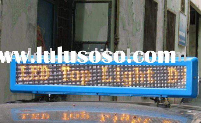 LED Car Message Scrolling Display