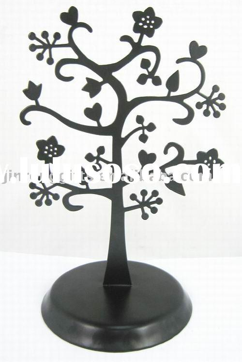 Metal Tree Jewelry Display Stands