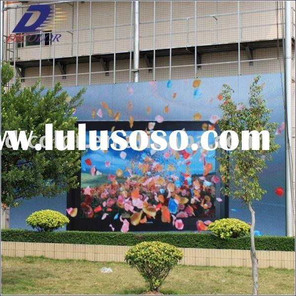 P25 (2R1G1B) Low Power Consumption Led Video Display For Advertising