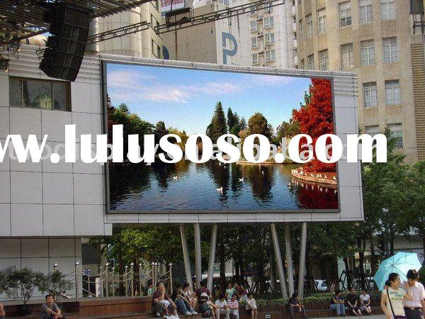 PH16 led outdoor advertising TV board