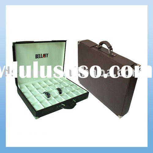 Portable Watch Display Storage Box and Case
