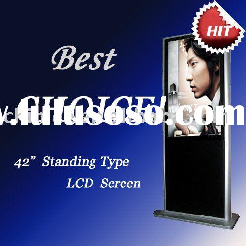 Stand LCD Advertisement Player 42inch