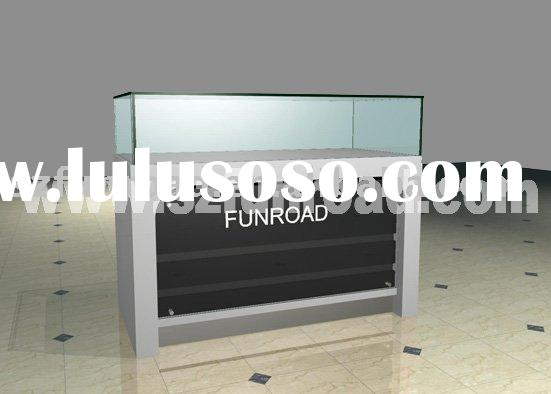 Store Fixtures, Glass Display Case, Glass Jewelry Showcases, Wall Cabinets And Counters