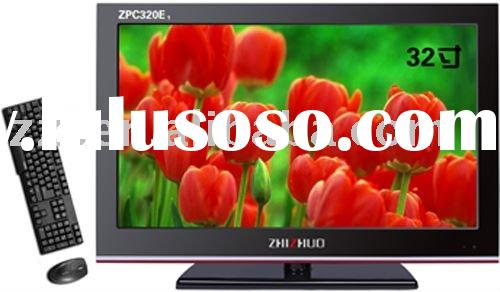 "Zhizhuo design! 32"" LCD all in one PC&TV(hot sale)"