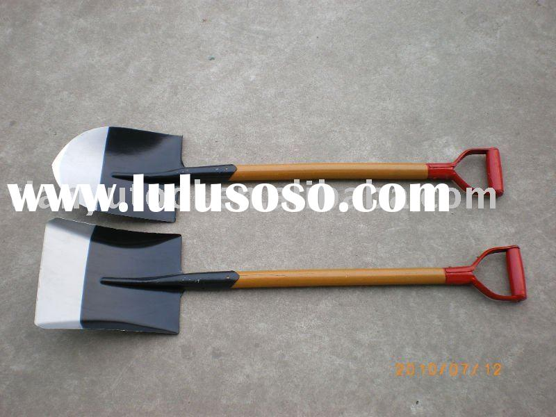 digging  tool S503 with wooden  handle