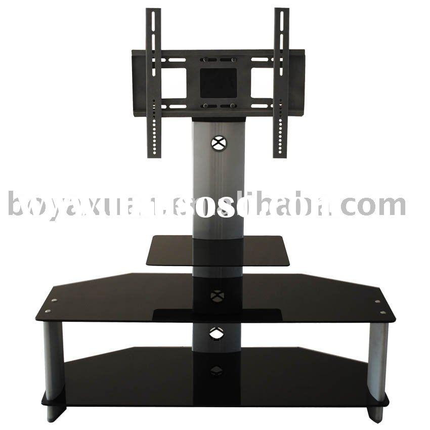 glass LCD tv stand A-036